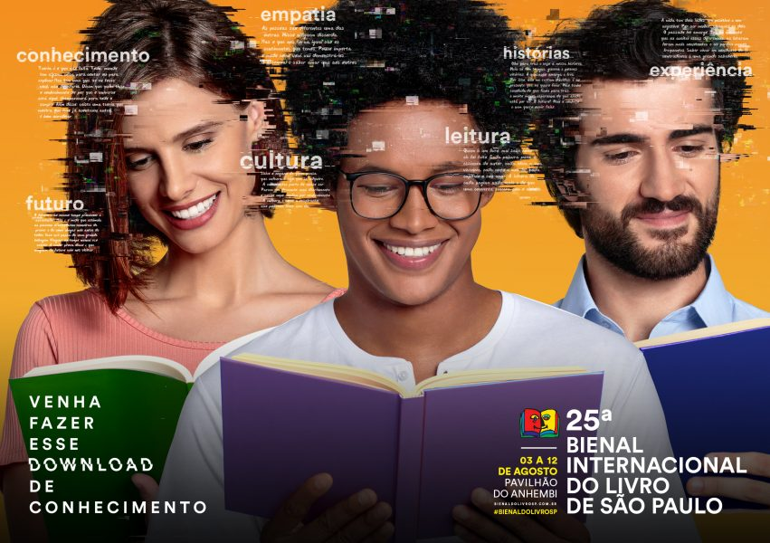 BienalSP Cartaz 01agosto2018 blogVencerLimites 851x600 - Acessibilidade e inclusão na Bienal Internacional do Livro de São Paulo
