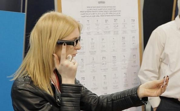 votação com orcam - Eleições acessíveis com OrCam MyEye em Israel