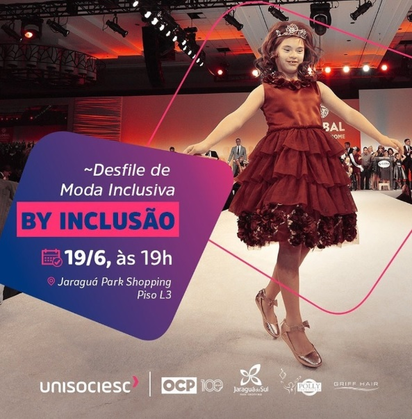 moda inclusiva - Unisociesc promove desfile de moda inclusiva