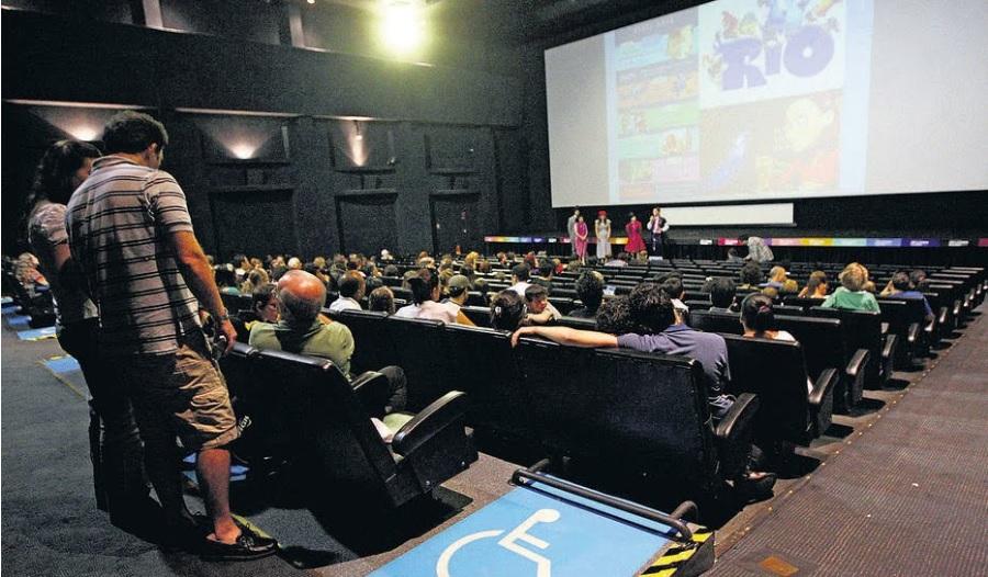 sala de cinema - Acessibilidade nas salas de cinema