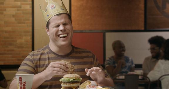 Burger King - Burger King cria comercial com audiodescrição aberta na TV