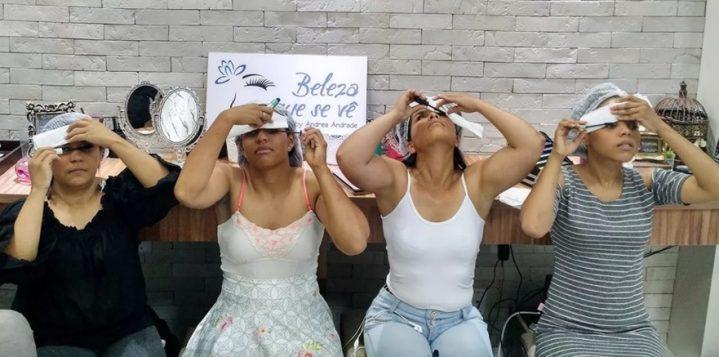 beleza que se ve 719x357 - Projeto 'Beleza que se vê' oferece curso gratuito de automaquiagem para deficientes visuais