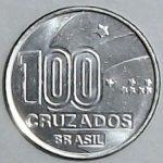 100 cruzados 150x150 - Você sabia que as estrelas nas moedas de Cruzeiro eram sinais em braile?