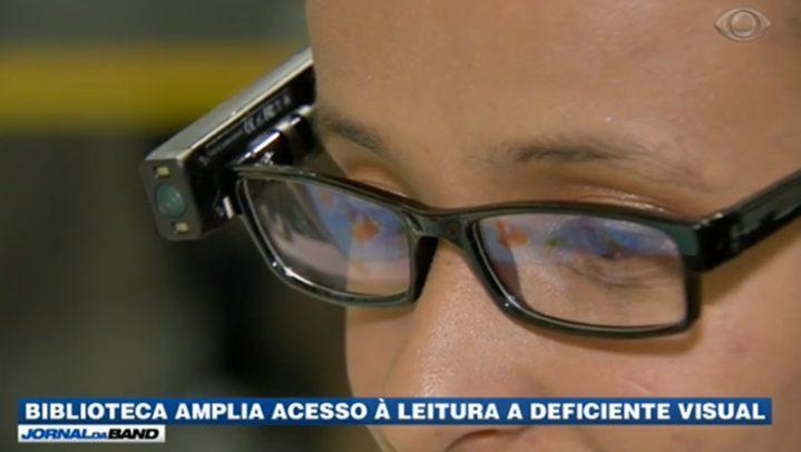 Biblioteca amplia acesso a leitura a deficientes visuais 719x406 - Biblioteca amplia acesso à leitura a deficientes visuais