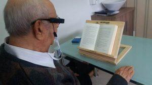 Deficientes visuais recebem dispositivo que auxilia a leitura 300x169 - Deficientes visuais recebem dispositivo que auxilia a leitura