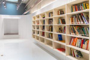 SPPC unibes bibliotech1 300x200 - Bibliotech: espaço de leitura inclusivo