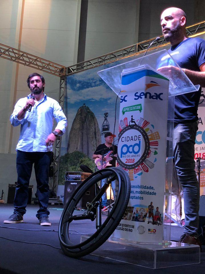 WhatsApp Image 2018 12 07 at 16.03.09 719x959 - Mais Autonomia marca presença no Cidade PCD, no Rio de Janeiro!