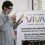 biblioteca viva 150x150 - Óculos que transforma texto em áudio chega em bibliotecas de SP