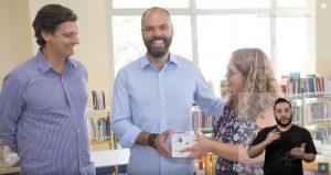 jornal da cultura 300x159 - A inclusão do OrCam MyEye em bibliotecas de São Paulo foi mencionada pelo Jornal da Cultura, em matéria especial sobre tecnologia.