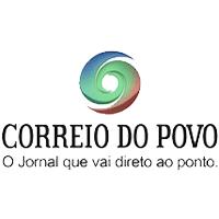 """Logo do Jornal diário de Notícias """"Correio do Povo"""""""