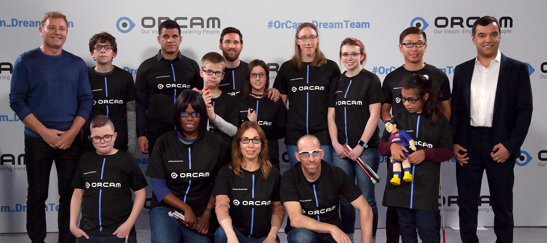 OrCam Dream Team - Messi - Seja o melhor que você pode ser